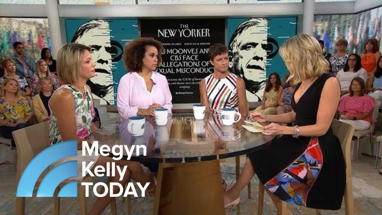 Megyn Kelly TODAY Panel Discusses Allegations Against CBS CEO Les Moonves | Megyn Kelly TODAY