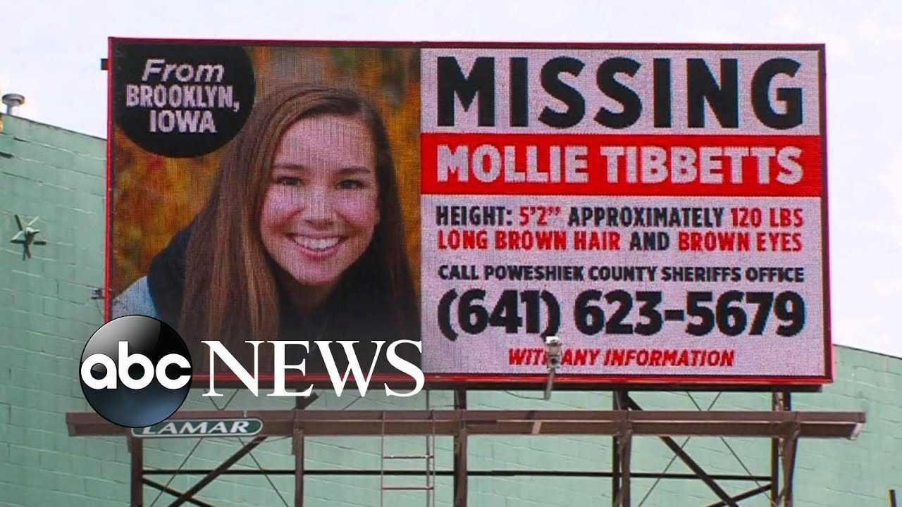 Mollie Tibbetts' father believes she was kidnapped