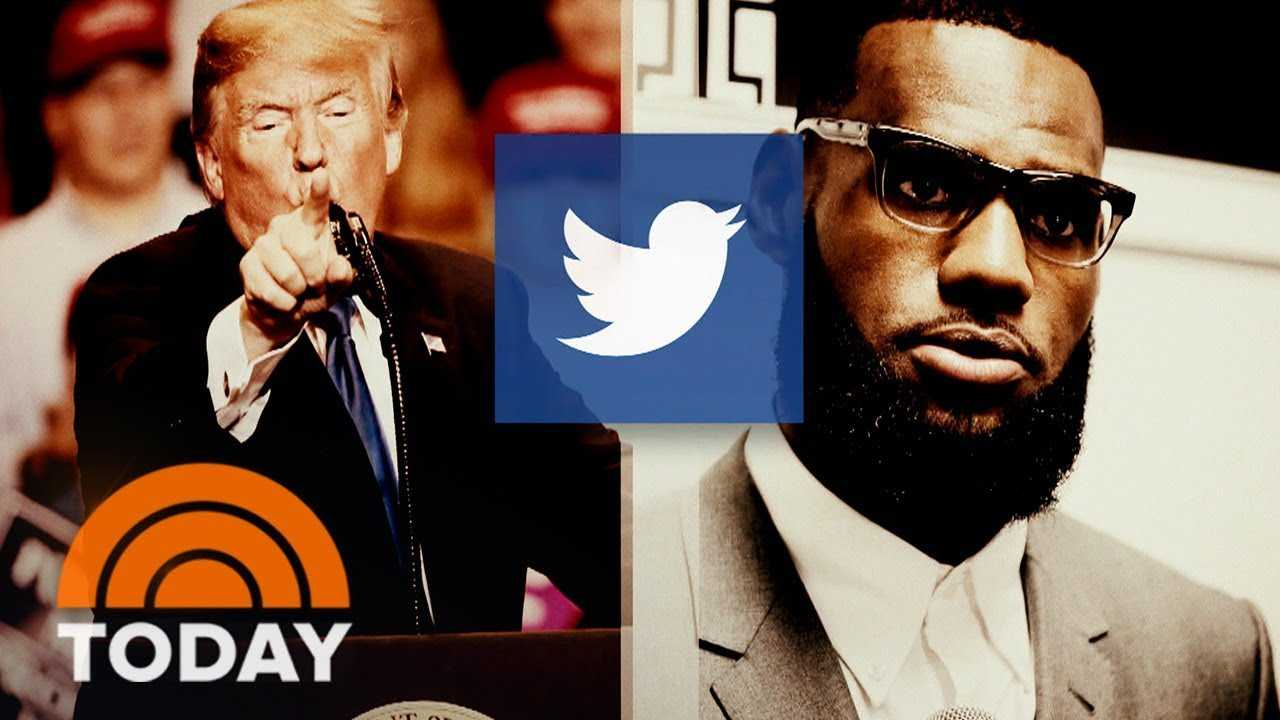 President Donald Trump Takes Aim At NBA Superstar LeBron James And CNN's Don Lemon In Tweet | TODAY