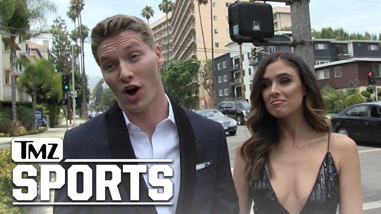 Racing Star Josef Newgarden Praises Danica Patrick With Super Hot Girlfriend | TMZ Sports