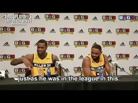 Reporter asks Stephen Jackson if Kobe Bryant could handle The Big 3