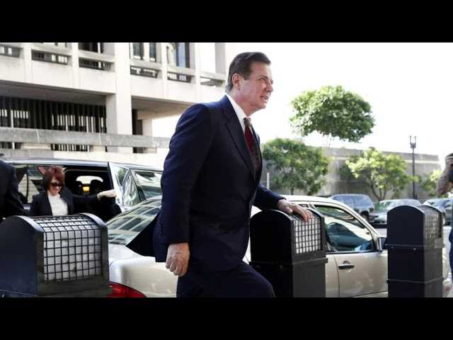 Reporter: Manafort Appeared Relaxed in Courtroom