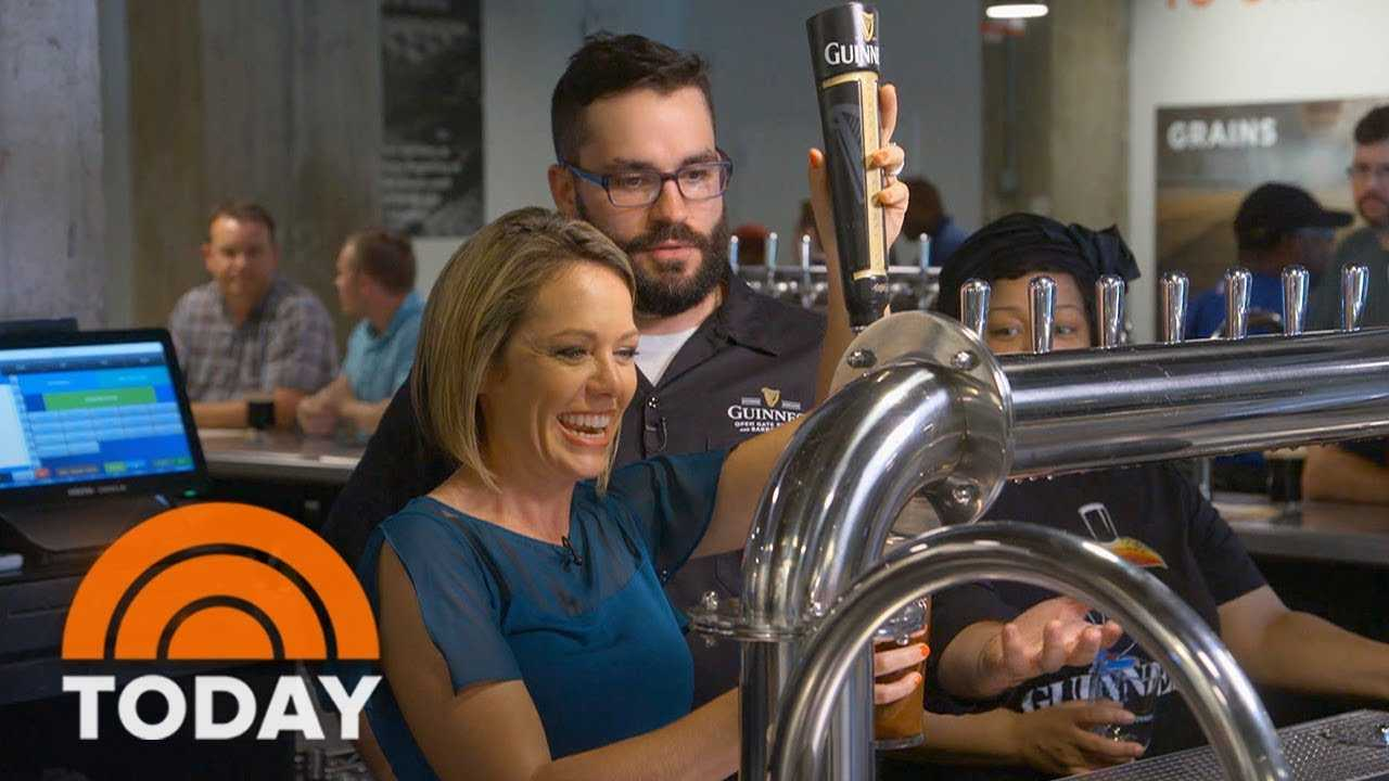 Take A Look Inside The New US Guinness Brewery In Baltimore | TODAY