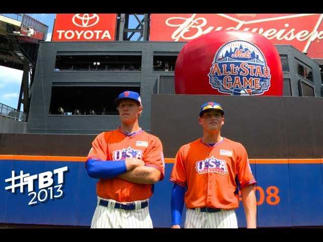 TBT: Brandon Nimmo at Citi Field for 2013 Futures Game!