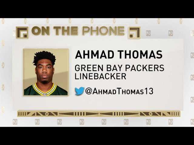 The Jim Rome Show: Ahmad Thomas talks Packers football