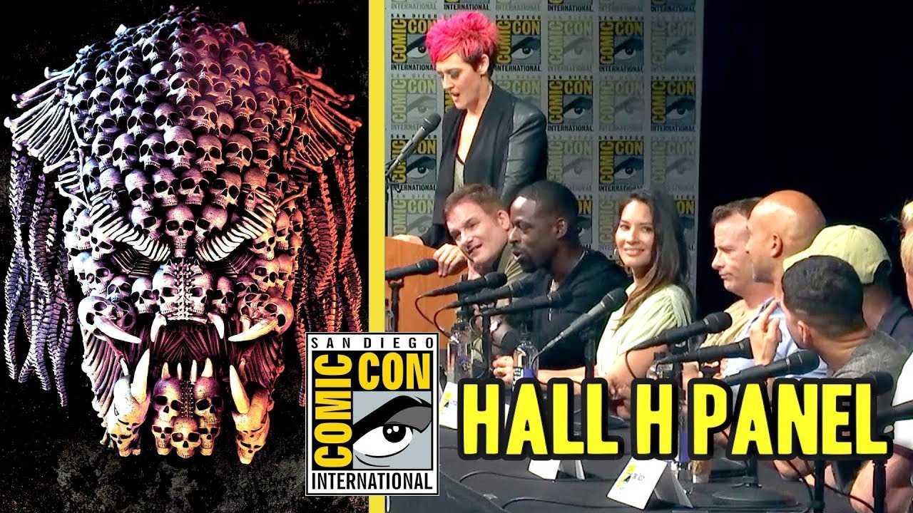 THE PREDATOR Comic Con Hall H Panel Q&A (SDCC 2018)