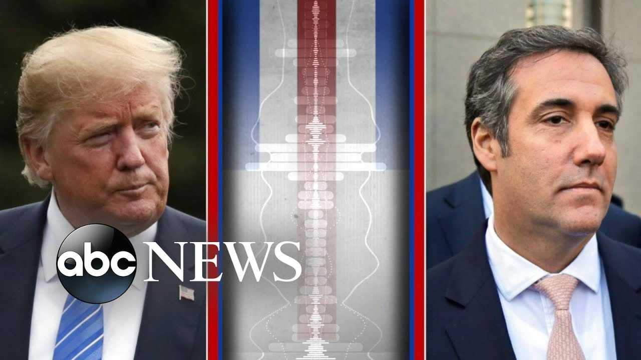 Trump-Cohen secret audio tape made public