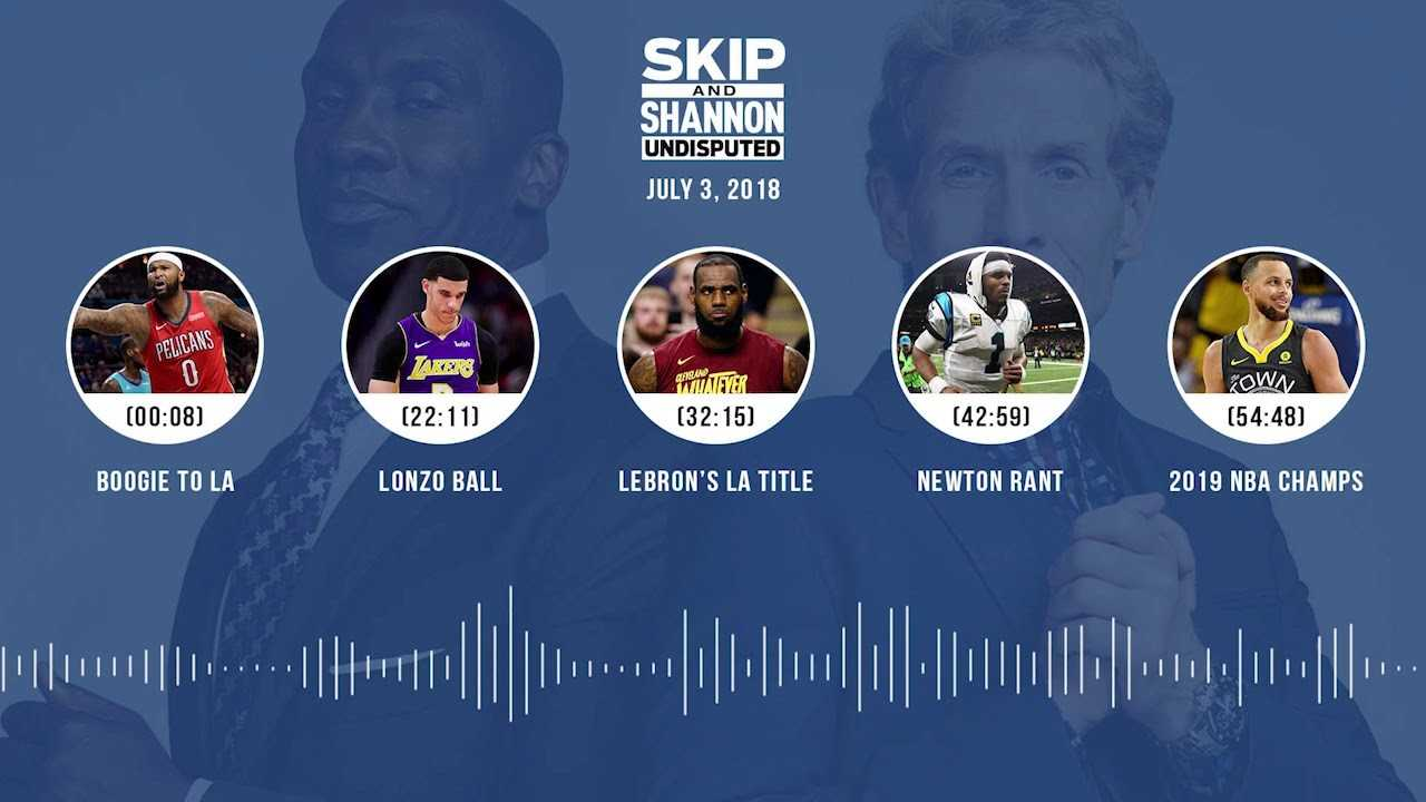 UNDISPUTED Audio Podcast (7.3.18) with Skip Bayless and Shannon Sharpe | UNDISPUTED