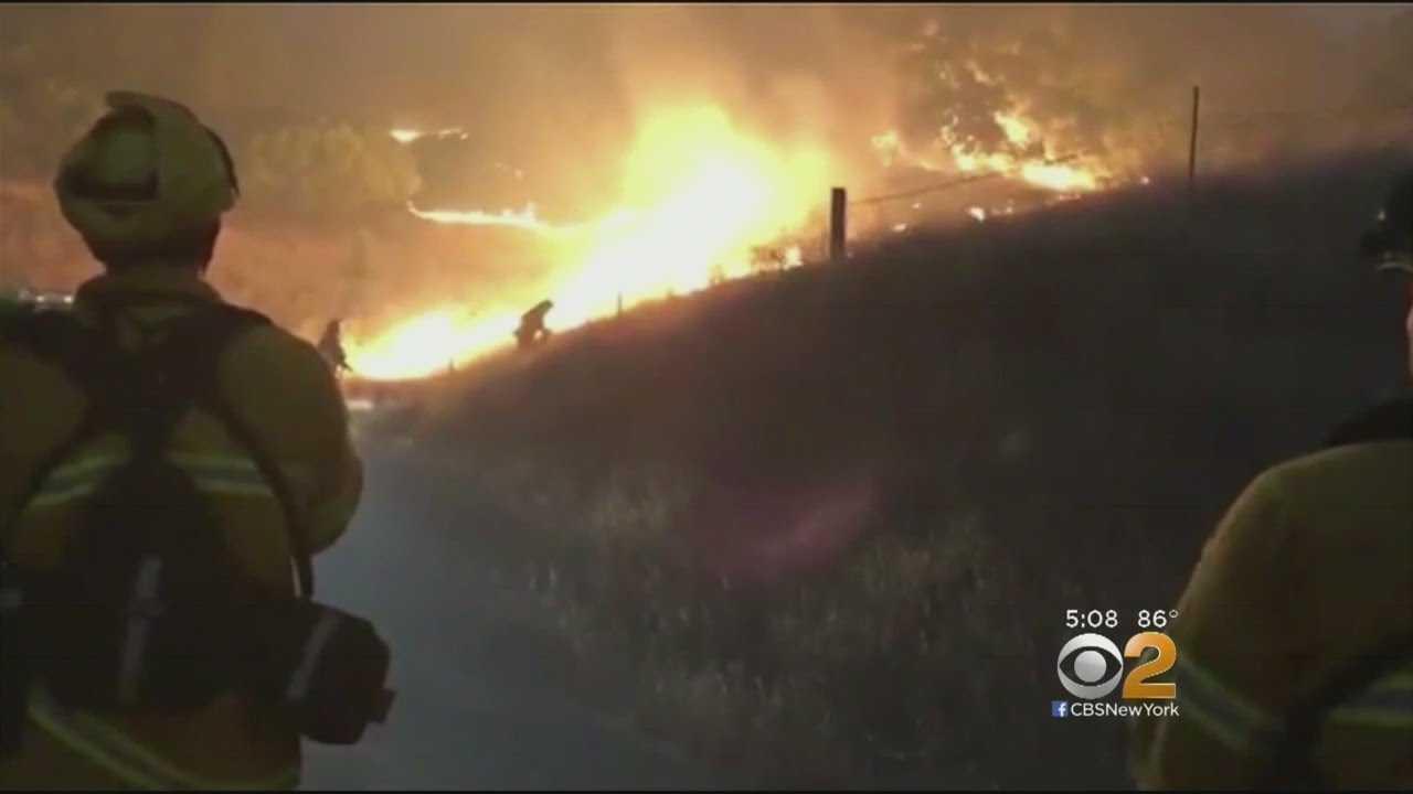 Wildfires Spread In California