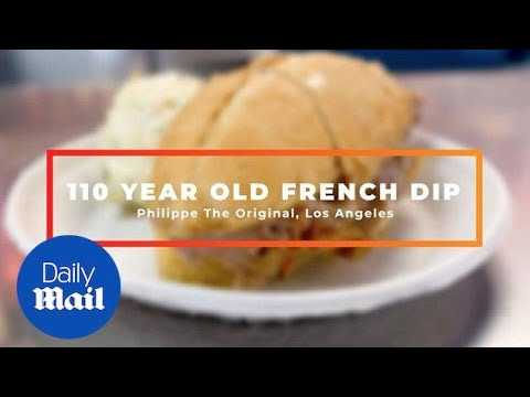 110-year-old recipe for legendary French Dip Sandwich in LA
