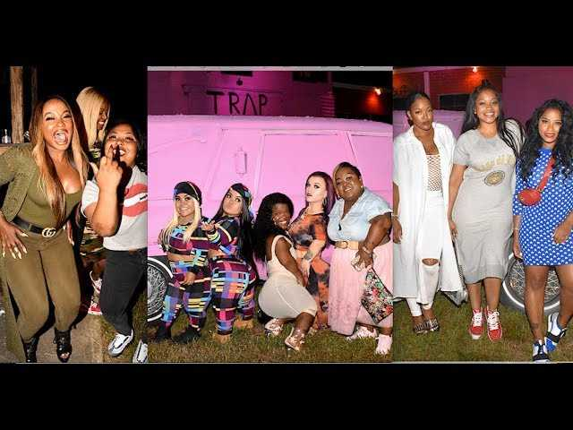 2 Chainz Celebrity Friends Attend Pink Haunted Trap House Grand Opening