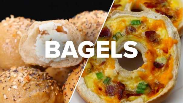 4 Upgraded Bagel Recipes