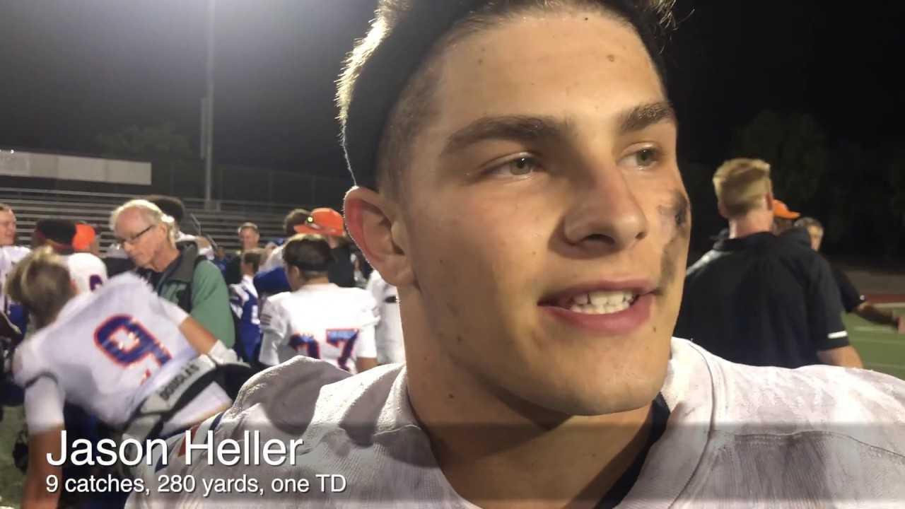 5-foot-8 receiver Jason Heller has big night for Westlake