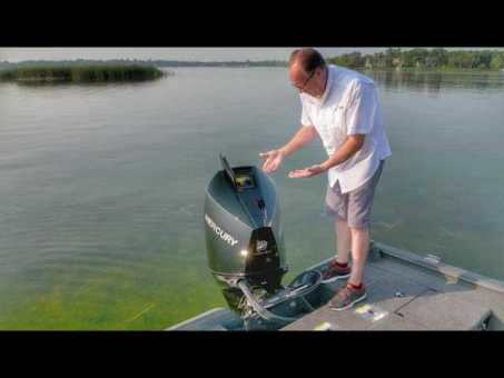A Look at the New Mercury FourStroke – Easy Access Maintenance