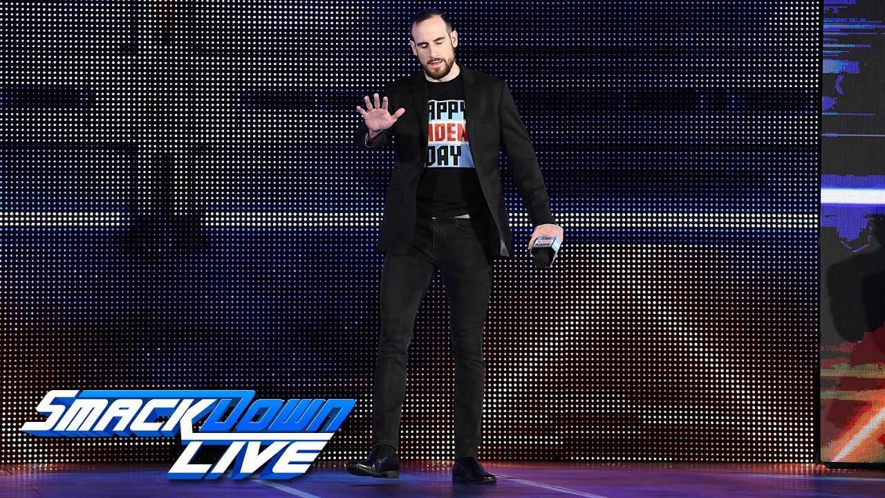 Aiden English shocks Lana and Rusev with a wild accusation: SmackDown LIVE, Sept. 25, 2018
