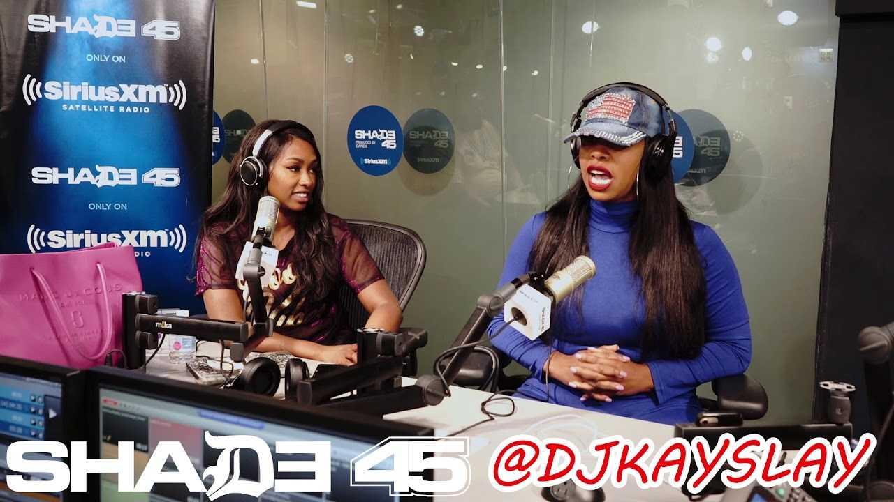 Aisha Hall interview with Dj Kayslay at Sirius XM