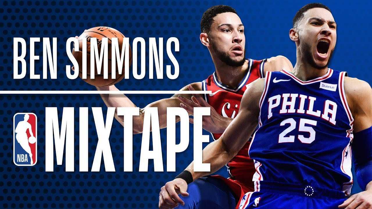 Ben Simmons' OFFICIAL 2018 NBA Season Mixtape | Rookie of the Year