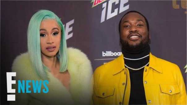 Cardi B Parties With Nicki Minaj's Ex Meek Mill | E! News