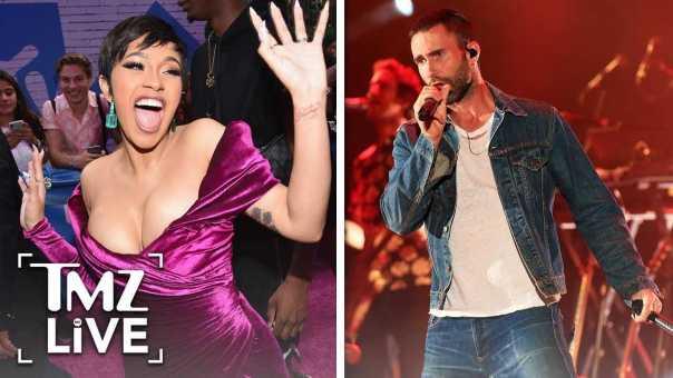 Cardi B Possible Super Bowl Performance With Maroon 5 | TMZ Live