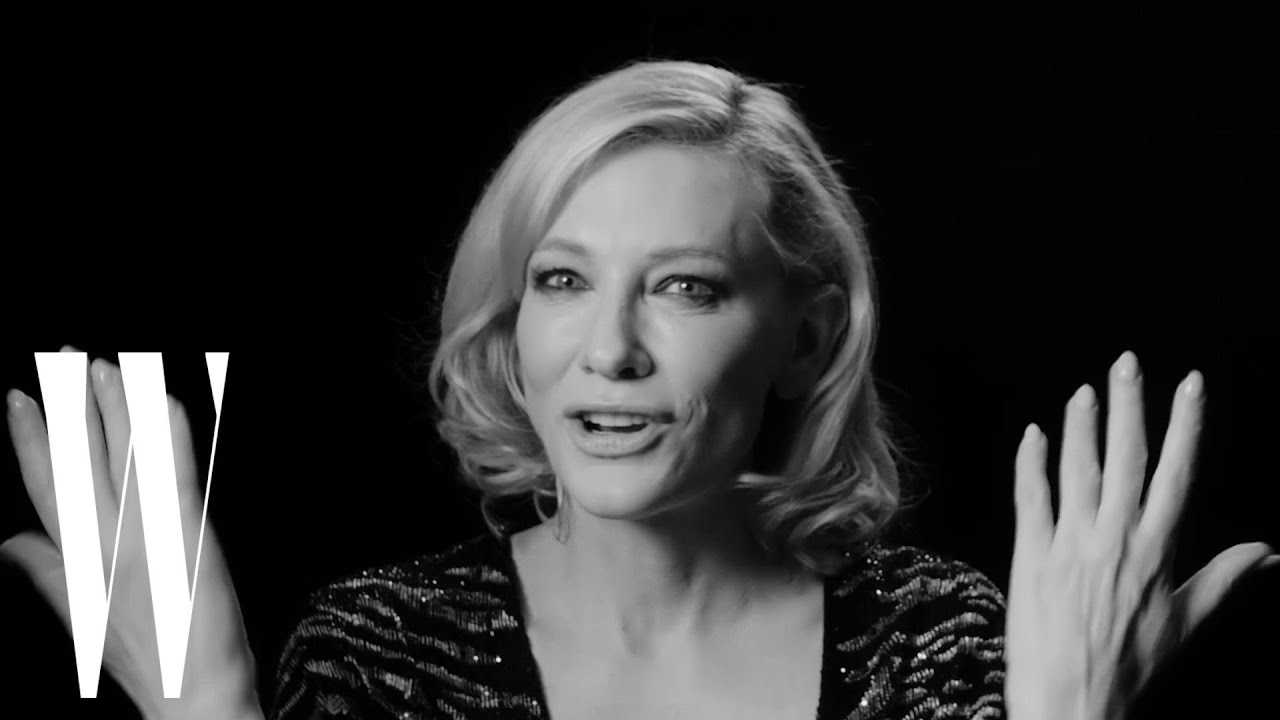 Cate Blanchett On Playing Bob Dylan and Why She Hasn't Directed a Movie Yet | W Magazine