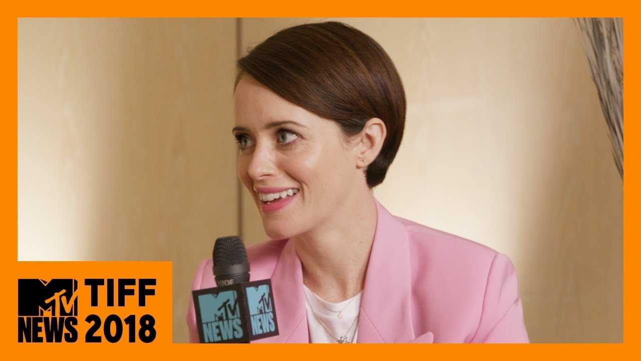 Claire Foy on 'First Man' & 'The Girl in the Spider's Web' | TIFF 2018 | MTV News
