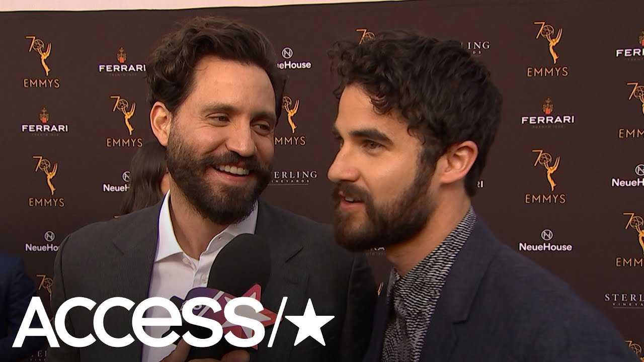 Darren Criss Talks Emmy Nom For 'Versace' & Keeping It Light Between Takes With Edgar Ramirez