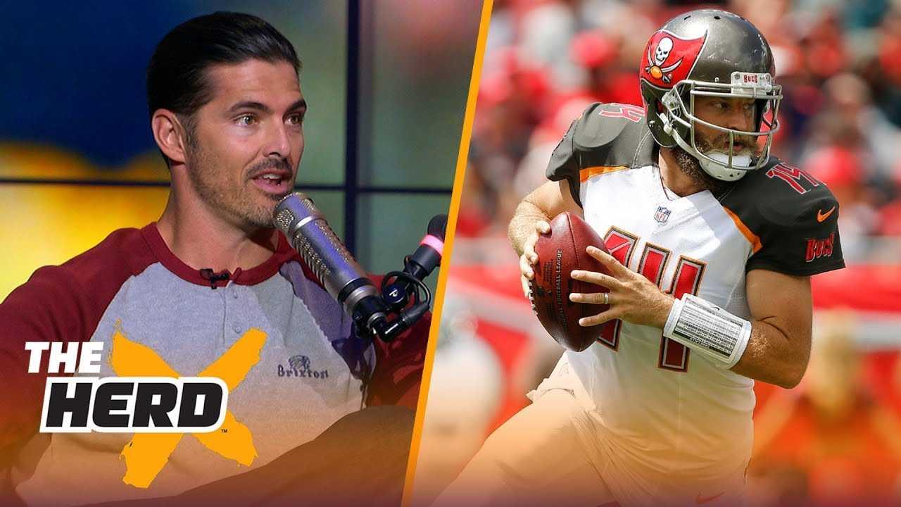 David Carr talks Fitzmagic, Patrick Mahomes, Week 2 QB play | NFL | THE HERD
