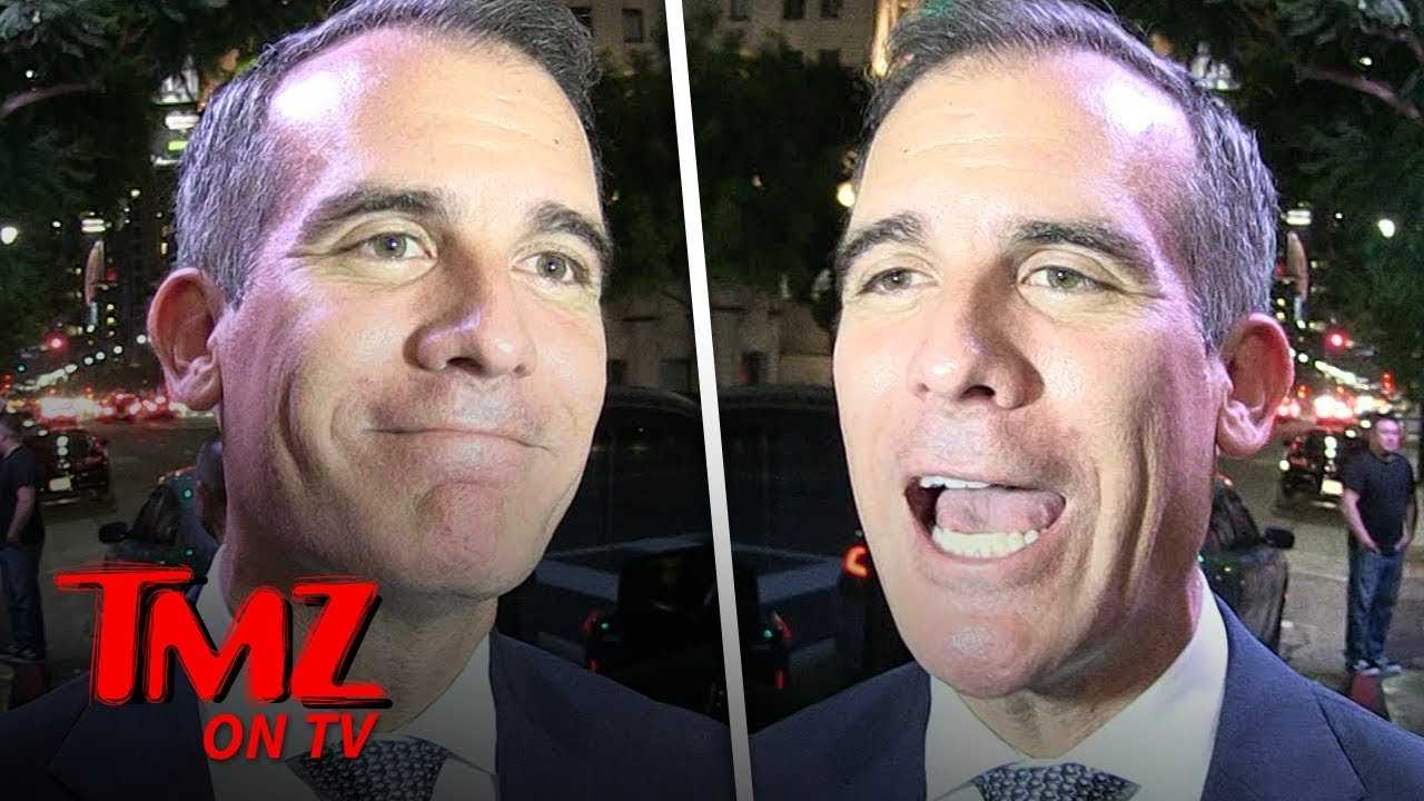 Garcetti Defends Ted Cruz! | TMZ TV