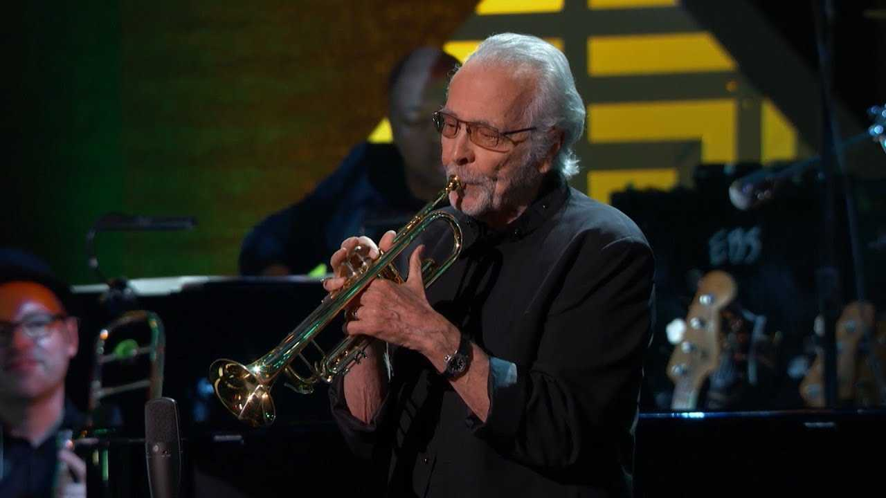 Herb Alpert Honors Drummer Hal Blaine on 'GRAMMY Salute to Music Legends'