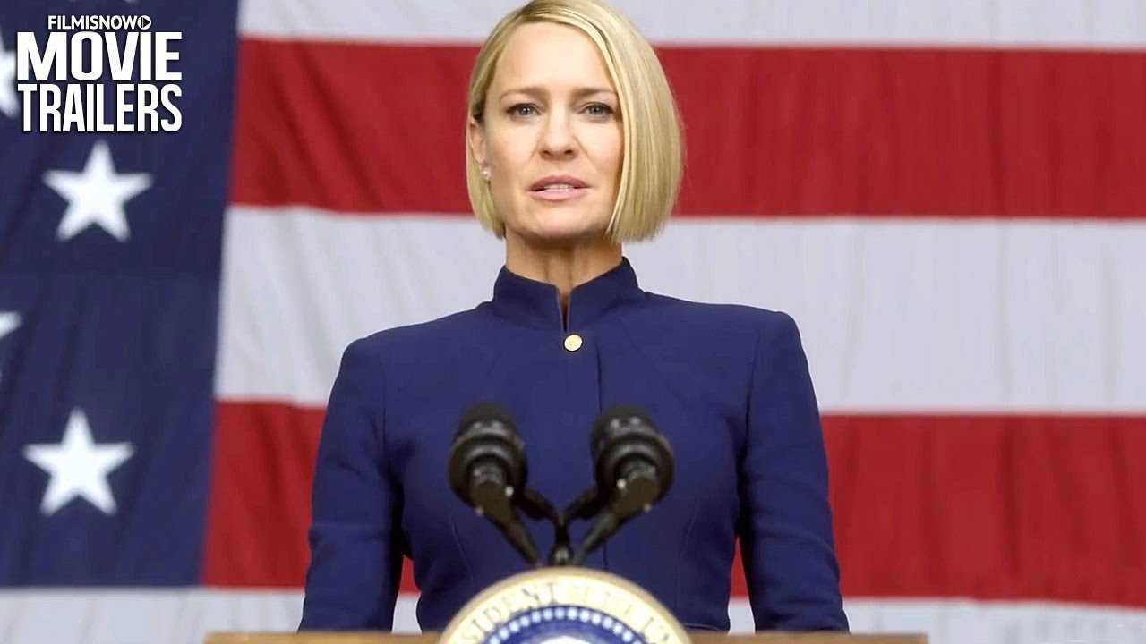 HOUSE OF CARDS Teaser Trailer NEW (2018) - Robin Wright Netflix Series