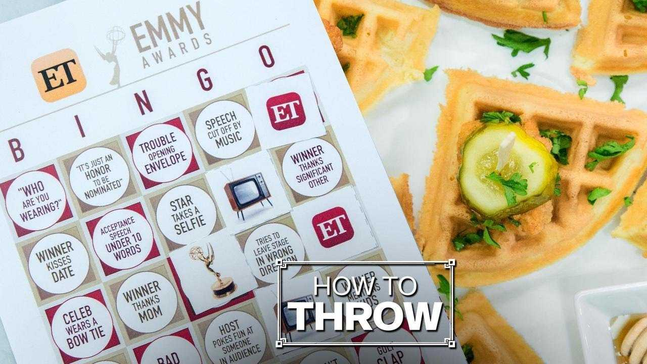 How to Throw an Epic Emmy Awards Viewing Party
