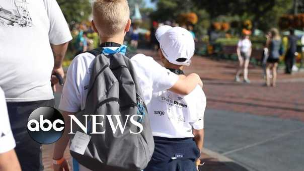 Hundreds of siblings separated in foster care reunite at Disneyland
