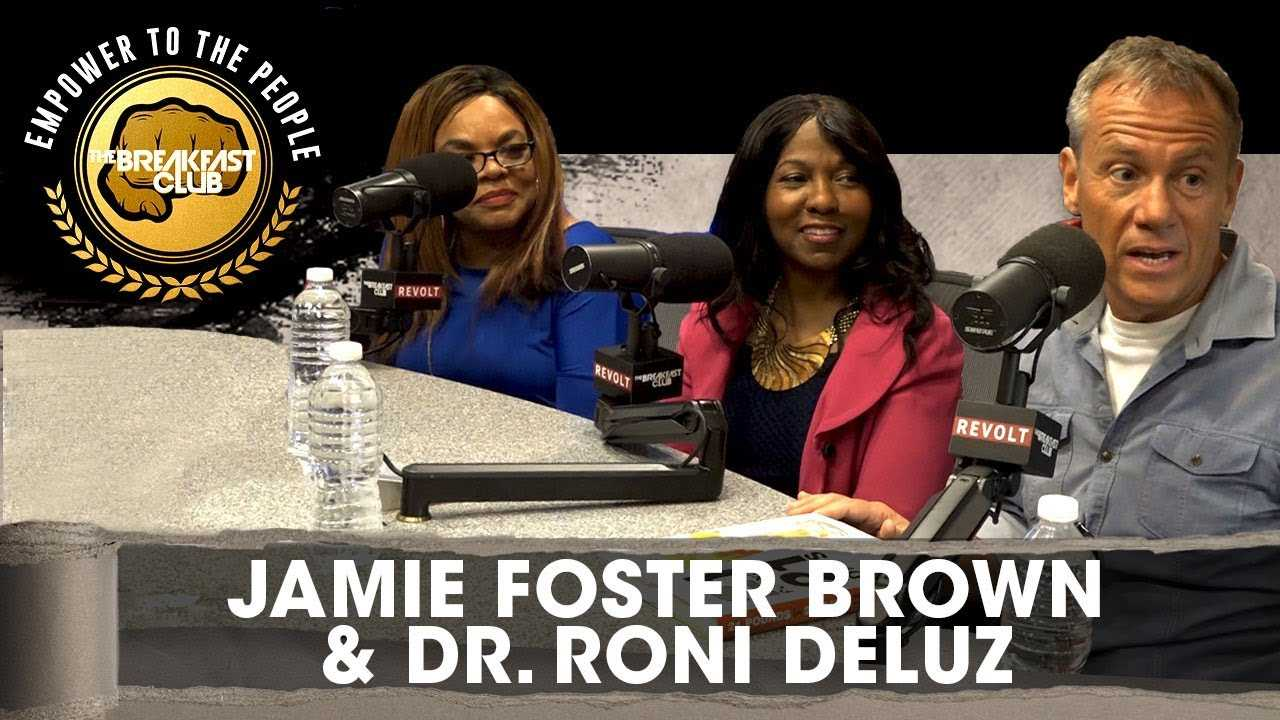 Jamie Foster Brown & Dr. Roni DeLuz Talk Healthy Dieting & '21 Pounds In 21 Days'