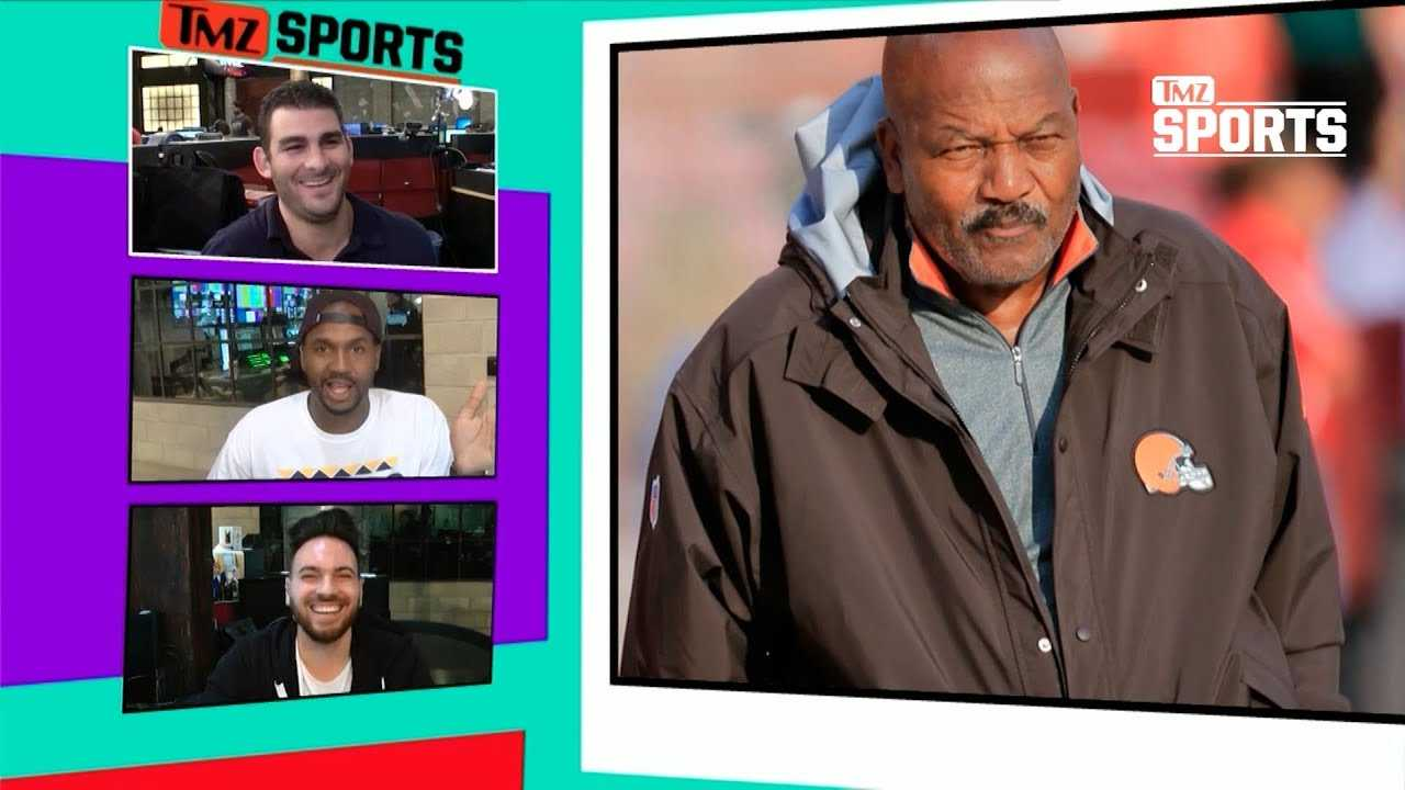 Jim Brown Thinks Cleveland's Got A Shot At The Playoffs Now! | TMZ Sports