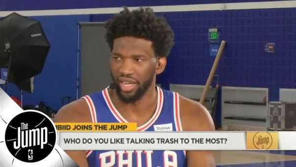 Joel Embiid on Deandre Ayton: 'He's about to get his a– kicked' | The Jump | ESPN