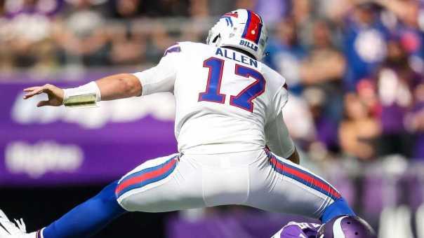 Josh Allen DESTROYS The Vikings