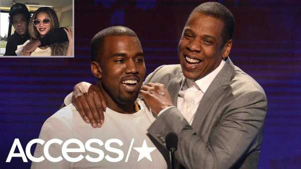Kanye West Shares Pic Of Beyoncé & Jay Z & Calls Them Family Following Feud | Access
