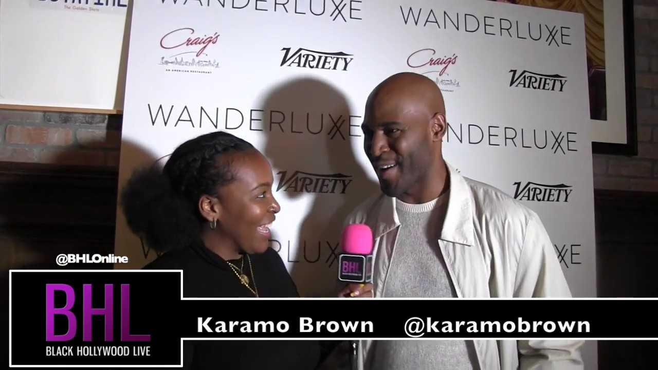 Karamo Brown   Wanderluxxe Emmy Nominee Diversity Luncheon at Craig's