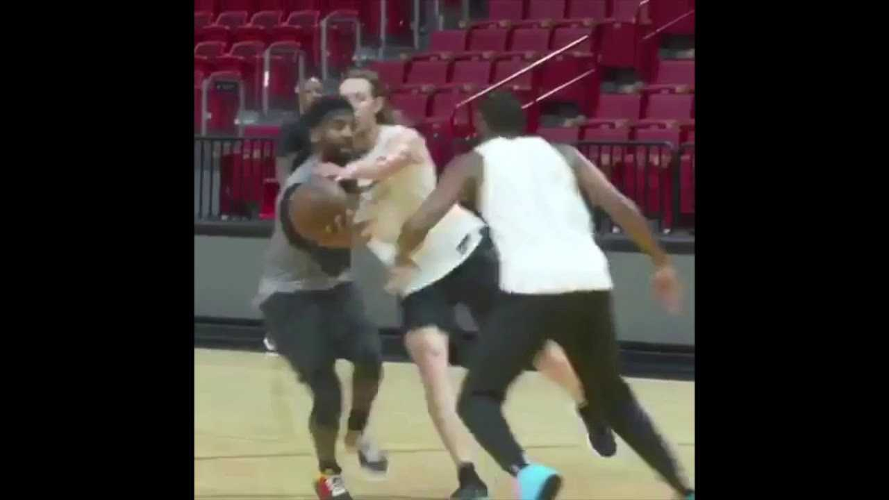Kevin Durant, Kyrie Irving & James Harden Scrimmage