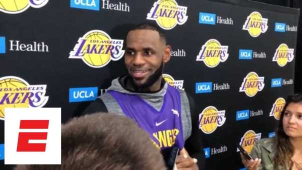 LeBron James: Lakers are a respected organization and 'we wanna get it back to that' | ESPN