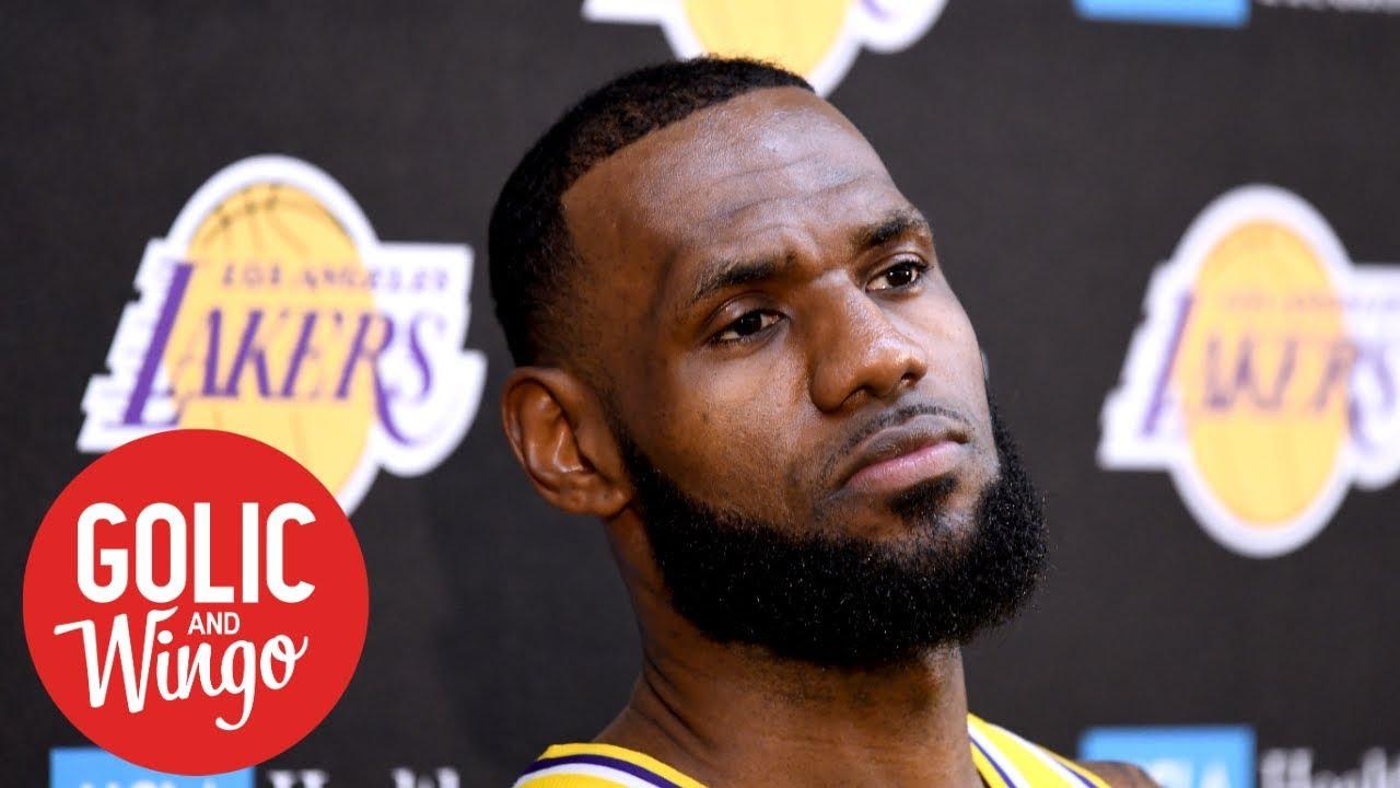 LeBron managing expectations for 2018-19 Lakers squad | Golic & Wingo | ESPN