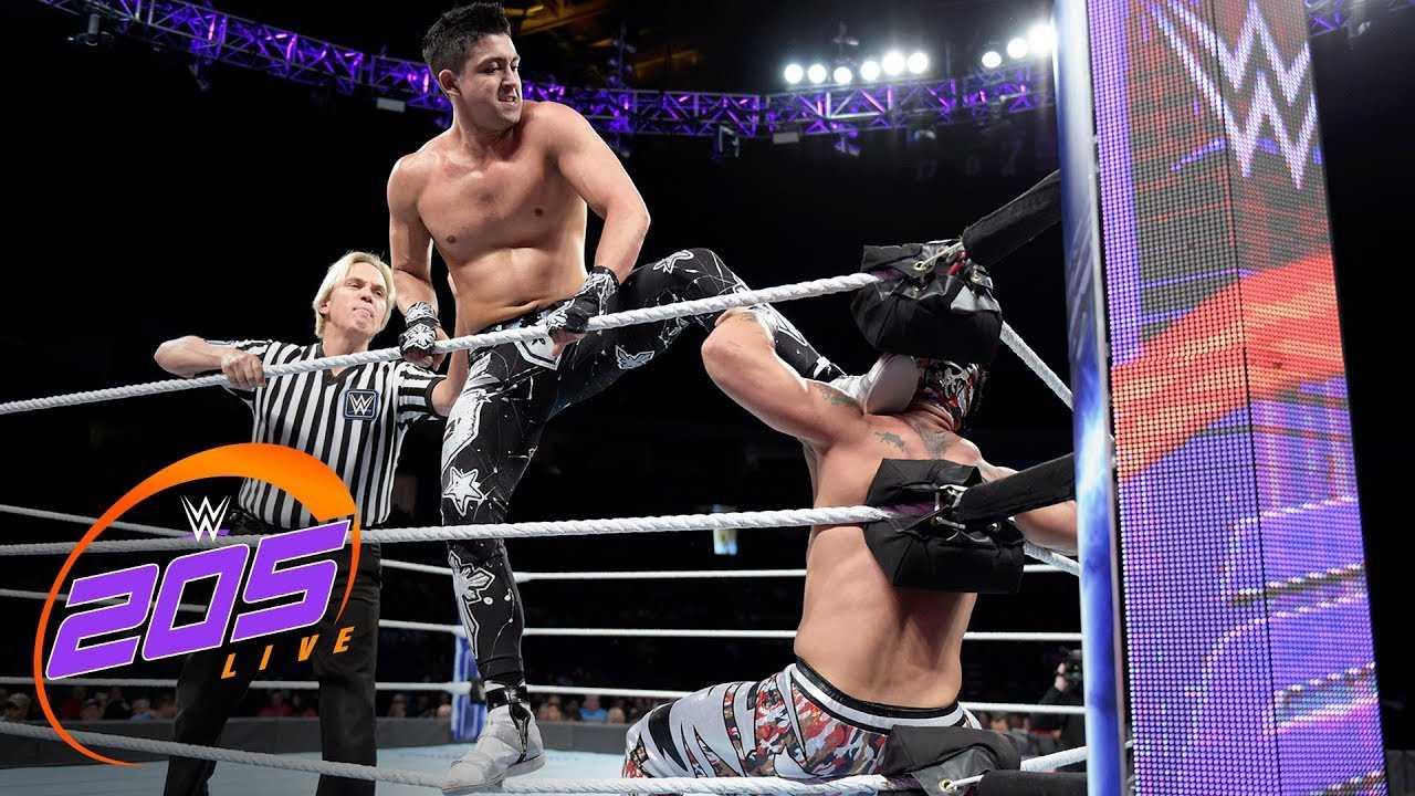 Lince Dorado vs. TJP: WWE 205 Live, Sept. 19, 2018