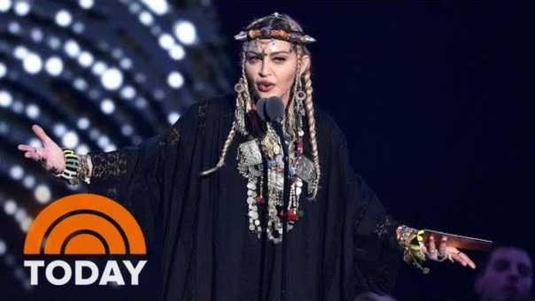 Madonna Responds To Criticism About Her VMA Aretha Franklin Speech | TODAY