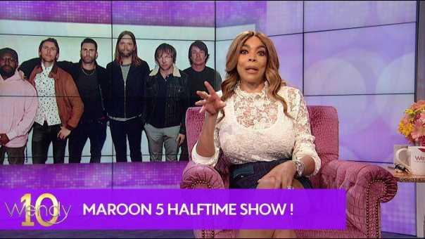 Maroon 5 Performing at the Super Bowl