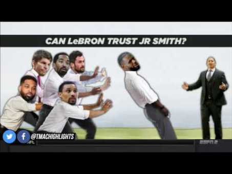 """McGrady Says LeBron Can't Trust JR Smith: """"You can't average 2 points as a starter"""" 