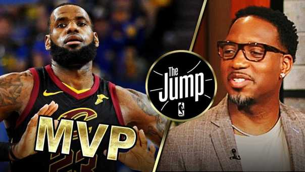 McGrady Thinks LeBron's Crazy Playoffs Performance Deserves It's Own MVP | The Jump