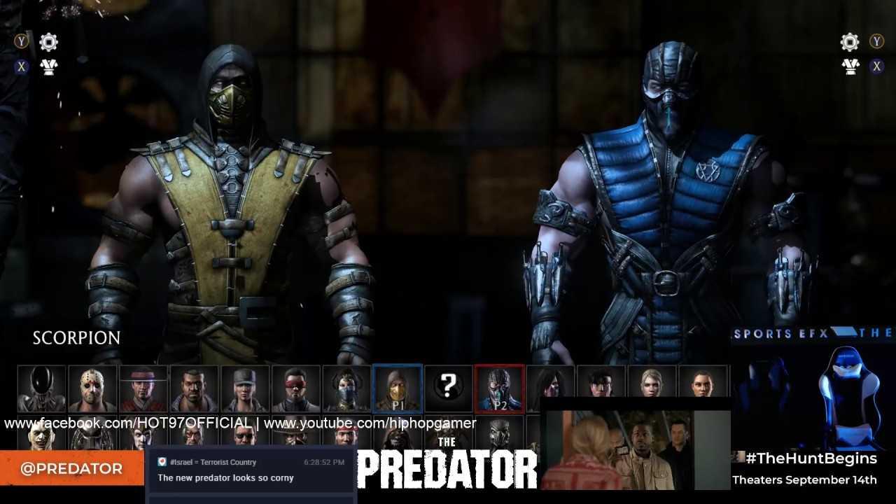 MORTAL KOMBAT X - Predator Battle Tournament   HipHopGamer