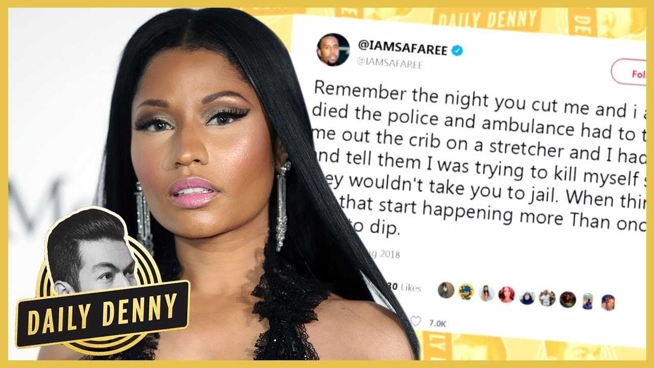 Nicki Minaj And Ex Safaree Samuels Go At It On Twitter | #DailyDenny