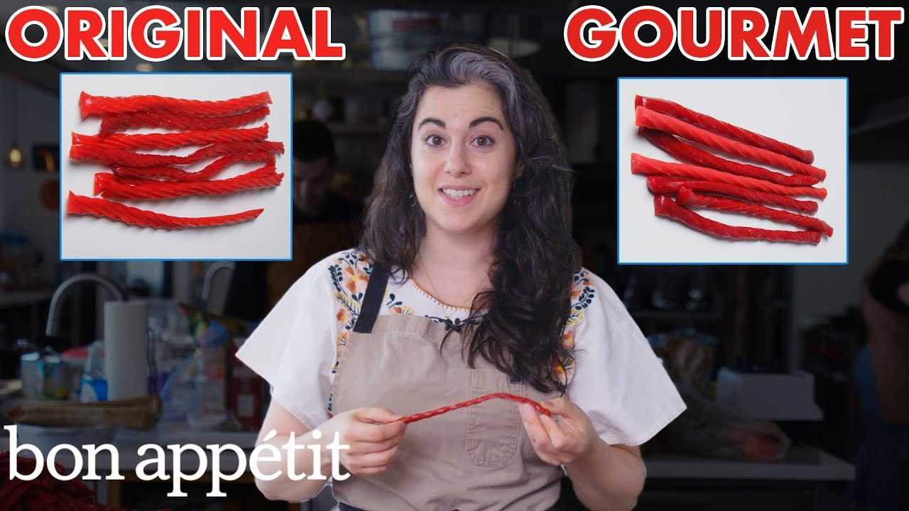 Pastry Chef Attempts To Make Gourmet Twizzlers   Gourmet Makes   Bon Appétit