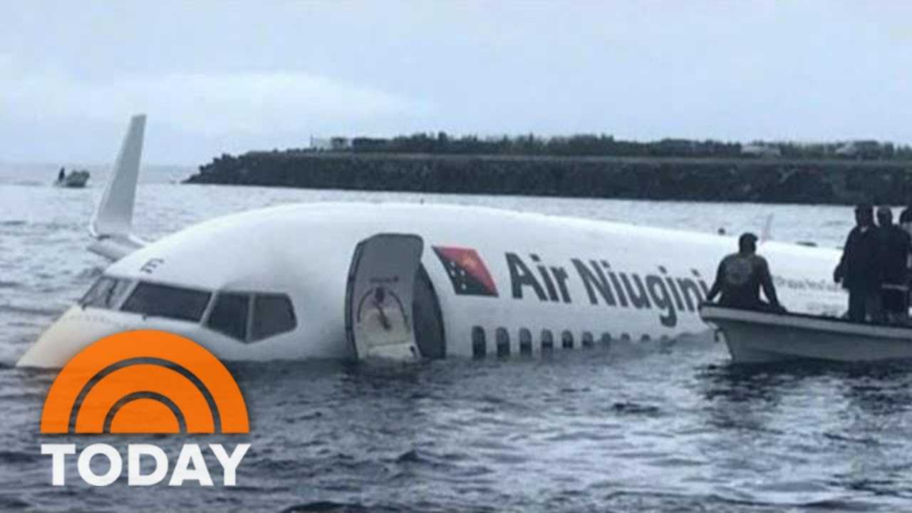 Plane Crashes Into Pacific Ocean, Makes Miracle Landing | TODAY